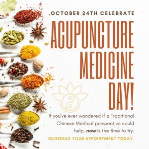 Acupuncture Medicine Day